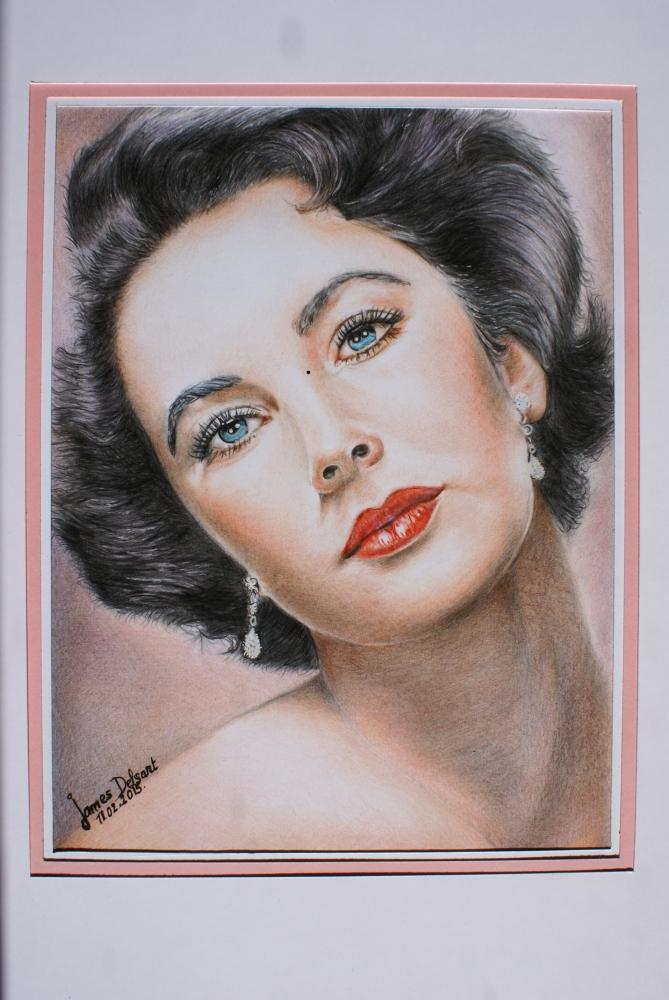 Elizabeth Taylor by Jimmy73